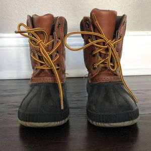 GAP Thinsulate (Insulated) Duck Boots. Size 9T/10T